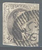MM-/-1033.- N° 3, Obl. ,  Cote 9.00 € ,  PAPIER EPAIS - Voir Les Scans Pour Detail !! - 1849-1850 Médaillons (3/5)