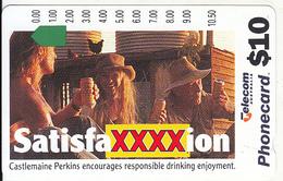 AUSTRALIA - Castlemaine Perkins/SatisfaXXXXion, Mint - Australia