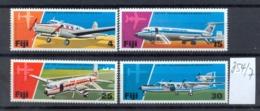 FIDSCHIINSELN -  354/7  Flugdienst 25 J.  Kpl.postfr - Fiji (1970-...)