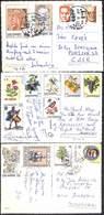 San Marino - Gentle Lot  3 Postcards (see Scans, Little Price, Stamps) - San Marino