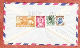 Luftpost, Kampf Gegen Hunger U.a., Sahaviriya Panich Bangkok Nach Hamburg 1963? (94446) - Thailand