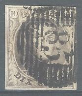 MM-/-1142.- N° 3, Obl. ,  Cote 9.00 € ,  PAPIER EPAIS - Voir Les Scans Pour Detail !! - 1849-1850 Médaillons (3/5)
