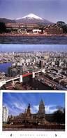 Argentine Argentina - Gentle Lot 3 Postcards (see Scans, Little Price, Stamps) - Argentina
