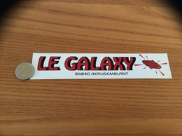AUTOCOLLANT, Sticker *** «LE GALAXY - BEAUSEMBLANT (26)» (Discothèque) - Adesivi