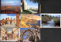 Israel - Gentle Lot  7 Postcards (see Scans, Little Price, Stamps) - Israel