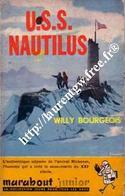 U.S.S. NAUTILUS  - WILLY BOURGEOIS- MARABOUT JUNIOR   -  BON ETAT - Marabout Junior