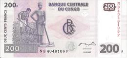 CONGO - 200 Francs 2007 UNC - Kongo