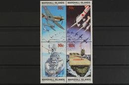 Marshall-Inseln, MiNr. 386-389 II, Viererblock, Postfrisch / MNH - Marshall Islands
