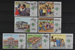Kenia, MiNr. 459-465, Gestempelt - Kenya (1963-...)