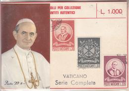 Pape Et Série De 3 Timbres - Vatican