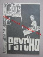 Psycho (1960) / Alfred Hitchcock: Anthony Perkins, Janet Leigh, Vera Miles ZETA Film ( American Film ) - Programs