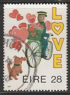 "Ireland 1987 ""Love"" Stamps 28 P Multicoloured SW 623 O Used - Gebruikt"