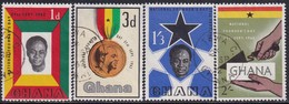 GHANA 1962 SG 292-95 Compl.set Used Founder's Day - Ghana (1957-...)