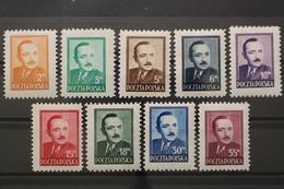 Polen, MiNr. 518-526, Postfrisch / MNH - Poland