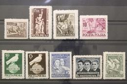 Polen, MiNr. 556-564, Postfrisch / MNH - Poland