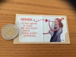 AUTOCOLLANT, Sticker «CANDEREL» Illustration KAPAZ (sucre) - Pegatinas