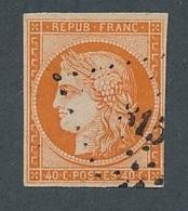 "DP-85: FRANCE: Lot Avec ""CERES "" N°5 Obl  1er Choix, Frais - 1849-1850 Ceres"
