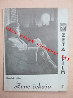 Waiting Women (1952) / Ingmar Bergman: Anita Björk, Eva Dahlbeck, Maj-Britt Nilsson ZETA Film ( Swedish Film ) - Programs
