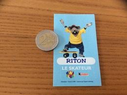 AUTOCOLLANT, Sticker, Chromo «Kinder MINI KEUME - RITON LE SKATEUR» 1999 - Pegatinas