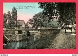 CPA (Réf : X522) 4335. SAINT-MAURICE (58 NIÈVRE) Le Canal - L'Écluse E. M (animée, Chevaux) - Otros Municipios
