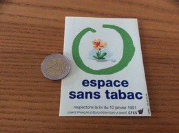 AUTOCOLLANT, Sticker * «espace Sans Tabac» - Pegatinas