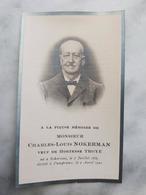 DAMPREMY DECE 02/04/1922 DE MONSIEUR CHARLES LOUIS NOKERMANNE A SCHORISSE - Religion & Esotérisme