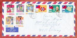 Luftpost, Volkssagen U.a., Taipei Nach Haunsheim 1971 (94460) - Briefe U. Dokumente