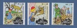 Bundesrepublik 2016 Wohlfahrt: Märchen Rotkäppchen Mi.-Nr. 3208-3210 ** - Zonder Classificatie