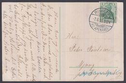 1911. SLESVIG POST CARD Nordborg Nórrehærredshus. From RINKENIS (Kr. APENRADE.) -2.6.... () - JF195281 - Schleswig-Holstein