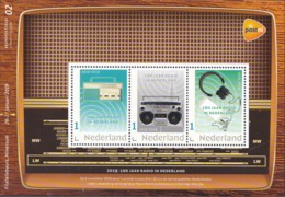 D(B) 187 ++ 2019 NETHERLANDS NEDERLAND 100 YEARS RADIO POSTFRIS NEUF MNH ** - Unused Stamps