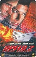 Japan Phonecard   Film Movie SPEED 2 - Cinema