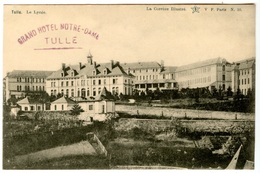 "TULLE - Le Lycée - Tampon ""Grand Hôtel Notre-Dame""  - Voir Scan - Tulle"