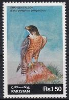 1986 Pakistan Peregrine Falcon Stamp (** / MNH / UMM) - Aigles & Rapaces Diurnes