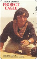 Japan Phonecard   Film Movie Project Eagle Jackie Chan - Cinema