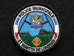 Ecusson PM ST MARTIN DE LONDRES - Police & Gendarmerie