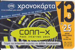 GREECE - Advertising OTE/Conn-x, OTE Prepaid Card 13 Euro, Tirage 30000, 12/05, Used - Greece