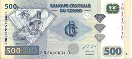 CONGO - 500 Francs 2013 UNC - Kongo