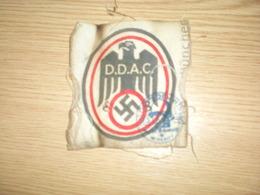 Nazy Emblem DDAC 9x9.5 Cm - 1939-45