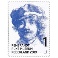 D(B) 187 ++ 2019 NETHERLANDS NEDERLAND REMBRANDT PAINTER POSTFRIS NEUF MNH ** - Unused Stamps