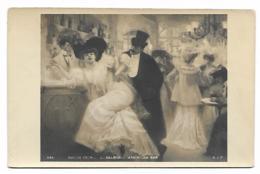 CPA SALON 1904, L. GALAND, AMERICAN BAR - Paintings