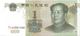 CHINE - 1 YUAN 1999 - UNC - China