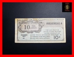 U.S.A. 10 Cents 1946 P. M2 Serie 461  Fine+ - Military Payment Certificates (1946-1973)