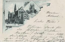 Haarlem Circulée En 1895 !!!! - Haarlem