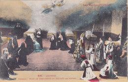 QF - RELIGION, Lourdes, Diorama - Mort De Bernadette Au Convent De Nevers - Christianity