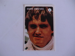 Formula 1 Eddie Cheever Portugal Portuguese Pocket Calendar 1986 - Calendars
