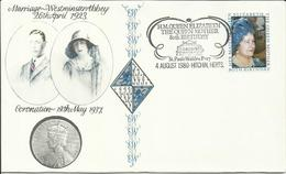 GB 1980 QUEEN MOTHER FDC - Lettres & Documents