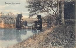Egypte Egypt   Barrage D'un Canal    M 3416 - Egypt
