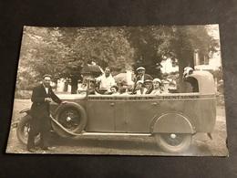 CPA 1900/1930 Carte Photo Excursions Pour Océan Et Montagnes - Autobus & Pullman