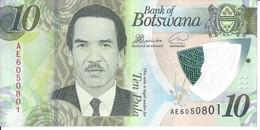 BOTSWANA - 10 Pula 2018 - UNC - Botswana