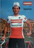 Postcard - Guido Bontempi - Carrera-Inoxpran - 1984 - Cycling